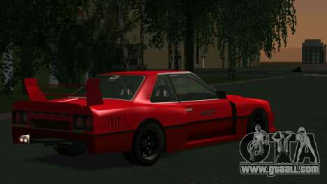 Nissan Skyline RS Turbo F-SPL (R30) for GTA San Andreas right view