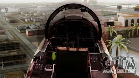 F-15E Strike Eagle Israeli Air Force for GTA San Andreas right view