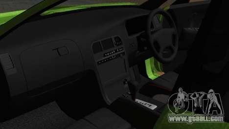 Toyota Mark II Tourer_V for GTA San Andreas inner view