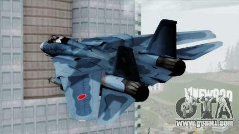 F-14 Japan Air Self Defense Force for GTA San Andreas left view
