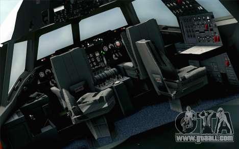 DC-10-30 Garuda Indonesia Sulawesi for GTA San Andreas back view