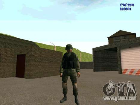 Warrior battalion East for GTA San Andreas