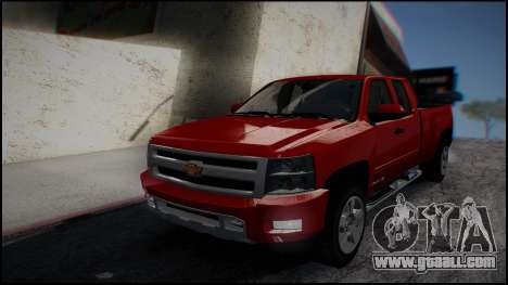Chevrolet Silverado 1500 HD Stock for GTA San Andreas left view