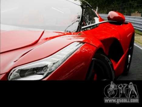 Ferrari Laferrari for GTA 4 back left view