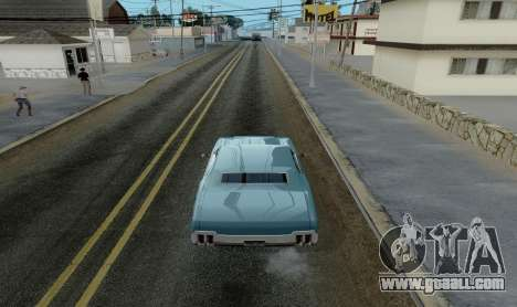 HQ Roads by Marty McFly for GTA San Andreas third screenshot
