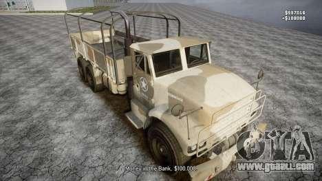 GTA 5 Barracks v2 for GTA 4 wheels