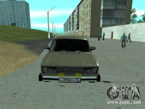 VAZ 2105 Lada for GTA San Andreas left view