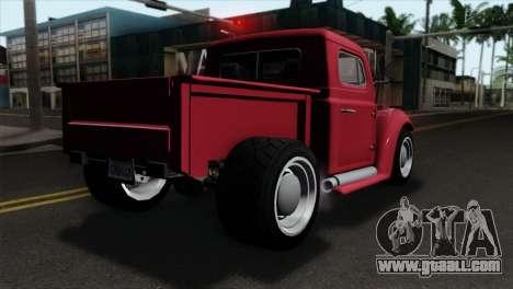 GTA 5 Bravado Rat-Truck IVF for GTA San Andreas left view