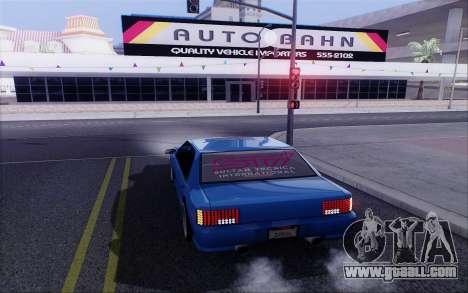 STI Sultan for GTA San Andreas left view