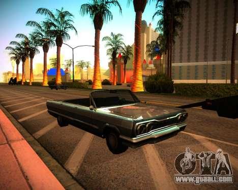 ENB GreenSeries for GTA San Andreas second screenshot