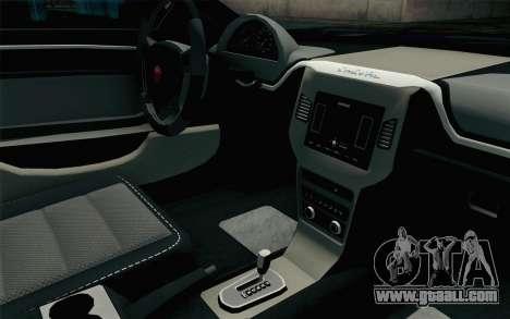 GTA 5 Cheval Fugitive HQLM for GTA San Andreas right view