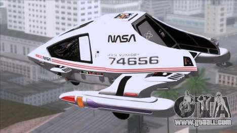 Shuttle v2 Mod 1 for GTA San Andreas left view