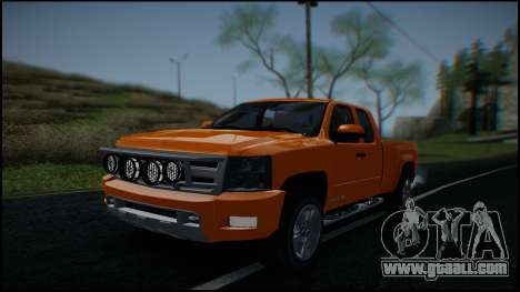 Chevrolet Silverado 1500 HD Stock for GTA San Andreas