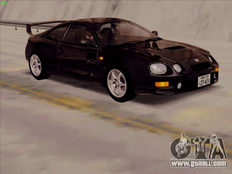 Toyota Celica GT-FOUR (ST205) for GTA San Andreas