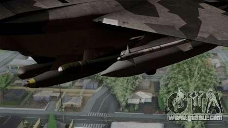 F-15E Yellow Squadron for GTA San Andreas right view