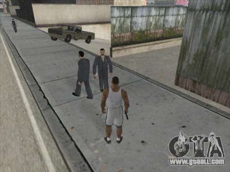 The Russians in the Shopping district for GTA San Andreas