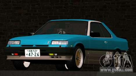 Nissan Skyline 2000 Turbo Intercooler RS-X kouki for GTA San Andreas