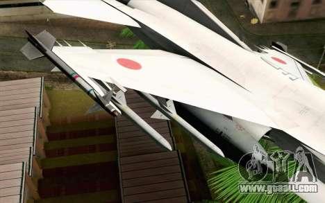 Mitsubishi F-2 Original JASDF Skin for GTA San Andreas right view