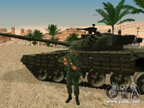 The Russian military is in a new form for GTA San Andreas sixth screenshot
