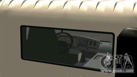 Mitsubishi Fuso Super Great FP-R for GTA San Andreas back view