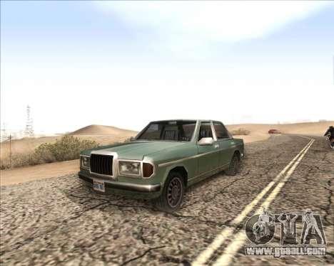 ENB v3.2.3 for GTA San Andreas forth screenshot