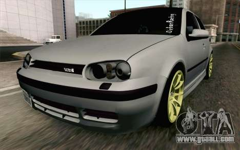 Volkswagen Golf Mk4 2002 Street Daily for GTA San Andreas