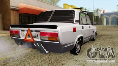 VAZ 2107 BC for GTA San Andreas left view