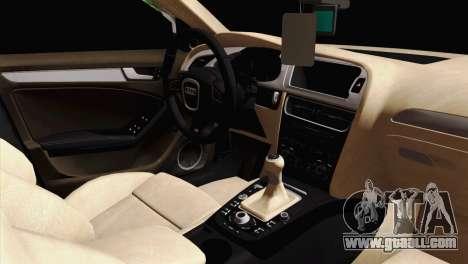 Audi S4 Sedan 2010 for GTA San Andreas right view