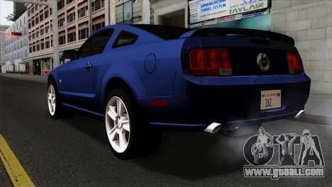 Ford Mustang GT PJ Wheels 1 for GTA San Andreas left view