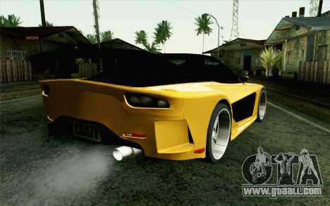 Mazda RX-7 Veilside Tokyo Drift for GTA San Andreas left view