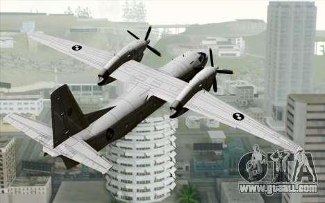 AN-32B Croatian Air Force Closed for GTA San Andreas left view
