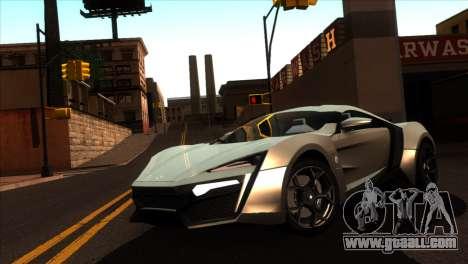 ENBSeries for weak PC v5 for GTA San Andreas