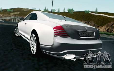 Maybach 57S Coupe Xenatec for GTA San Andreas left view