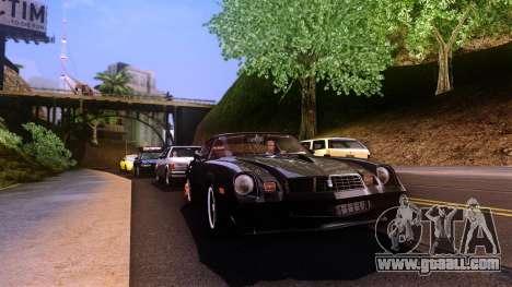 None Name ENB v1.0 for GTA San Andreas