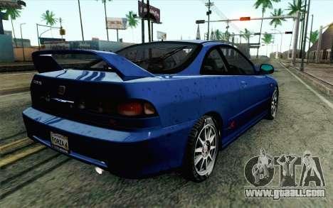 Honda Integra Type R 2000 Stock for GTA San Andreas left view