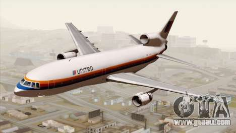 Lookheed L-1011 United Als for GTA San Andreas