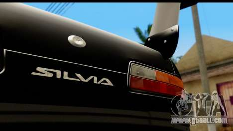 Nissan Silvia S13 Drift for GTA San Andreas back view