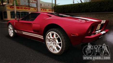 Ford GT for GTA San Andreas left view