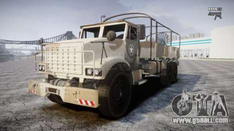 GTA 5 Barracks v2 for GTA 4 upper view