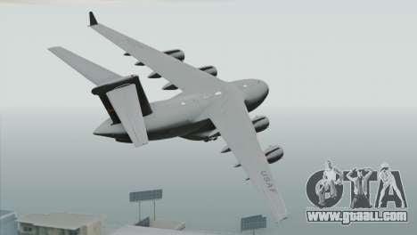 C-17A Globemaster III USAF March for GTA San Andreas left view