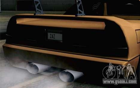 Infernus Edicte v2 for GTA San Andreas back view