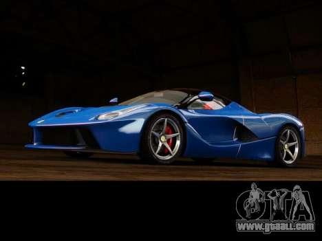 Ferrari Laferrari for GTA 4 back view