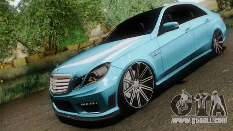 Mercedes-Benz E63 AMG 2010 Vossen wheels for GTA San Andreas left view