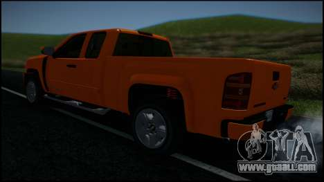 Chevrolet Silverado 1500 HD Stock for GTA San Andreas wheels