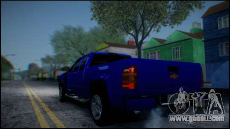 Chevrolet Silverado 1500 HD Stock for GTA San Andreas bottom view