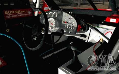 NASCAR Chevrolet Impala 2012 Short Track for GTA San Andreas right view