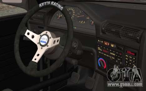 BMW E30 for GTA San Andreas