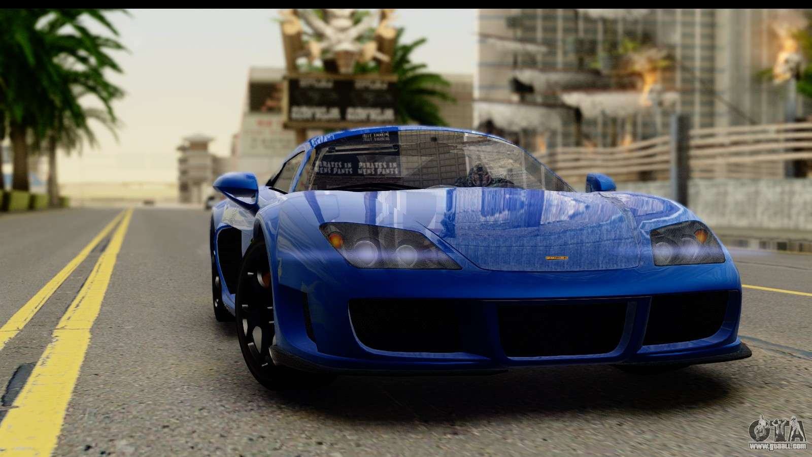 2010 Noble M600 for GTA San Andreas.