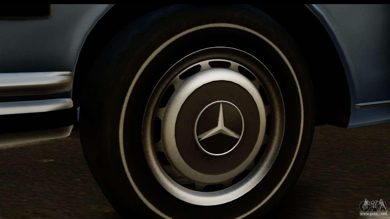 Mercedes Benz 300 Sel 6 3 W109 1967 Hqlm For Gta San Andreas