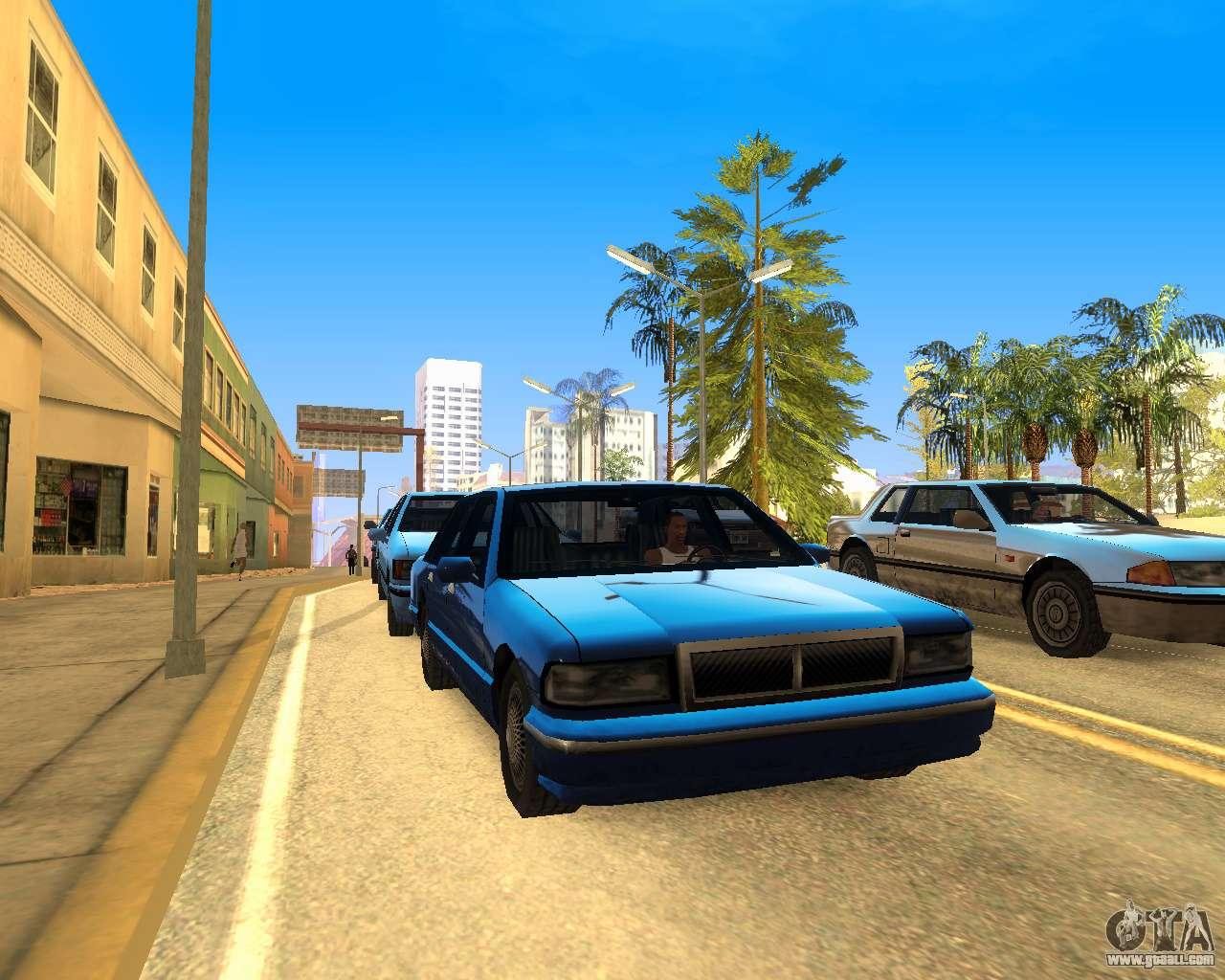 Cry ENB V4 0 SAMP NVIDIA for GTA San Andreas